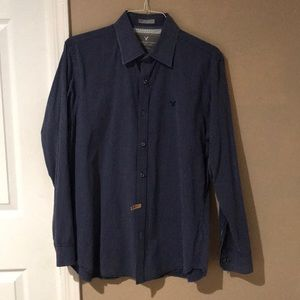 American eagle casual button down